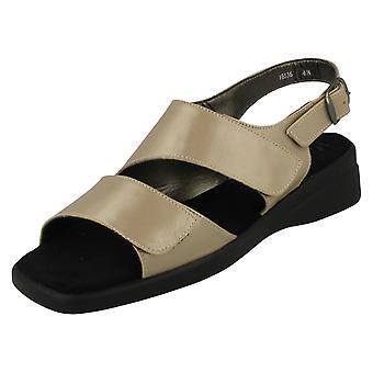 Ladies Nil Simile Narrow Fitting Leather Sandal Devon