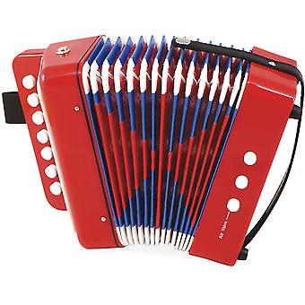 Vilac Red and Blue Musical Accordion