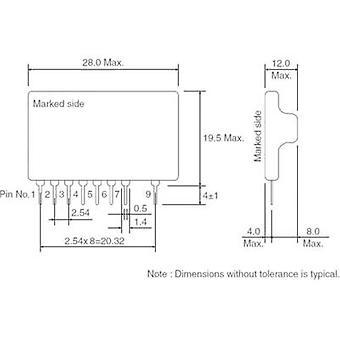 Convertidor DC/DC de ROHM Semiconductor BP5221A