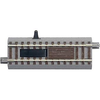 H0 Roco GeoLine (incl. track bed) 61118 Uncoupling track, Electrical 100 mm