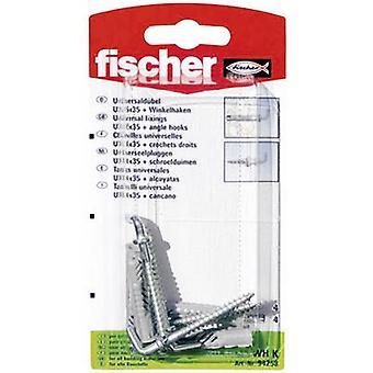 Fischer UX 6 x 35 WH K Universal dowel 35 mm 6 mm 94258 4 pc(s)
