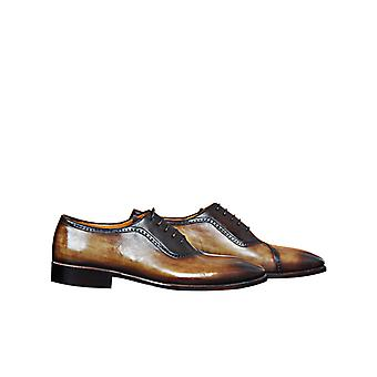 Handcrafted Premium Leather Relo B Oxford Shoe