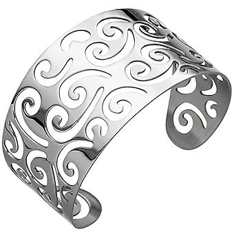 Cuff / open Bangle in stainless steel bracelet