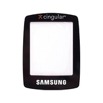 OEM Samsung C416 C417 Replacement Glass Window Lens (Black)