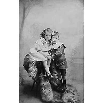 Ihre erste große Liebe! Gruß-Karte