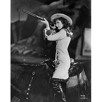 A scene from Annie Oakley Photo Print
