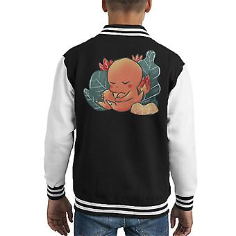 Pokemon schlafen Glumanda Kid Varsity Jacket