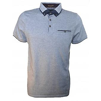 Ted Baker Men's Navy Blue Taytay Polo Shirt