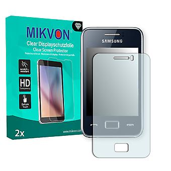 Samsung S5220R Rex 80 Screen Protector - Mikvon Clear (Retail Package with accessories)