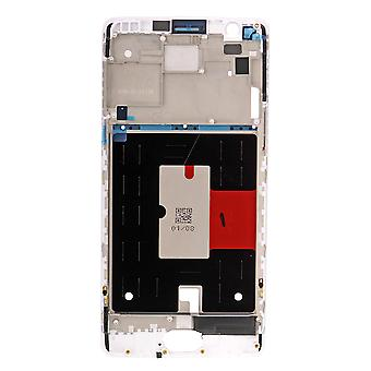 OnePlus 3 LCD støtte ramme - hvit