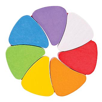 Bigjigs Toys Wooden Rainbow Petals Sensory Baby Educational Newborn Toy