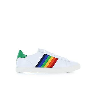 DSQUARED2 NEW TENNIS WHITE GREEN SNEAKER