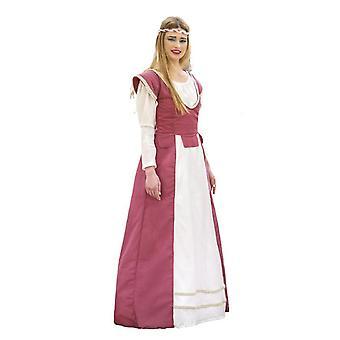 Middelalderske Lady Lady drakt Castle maiden kostyme kvinners berømte middelalderen