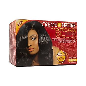Creme of Nature Argan Oil Advanced Straightening Relaxer Super