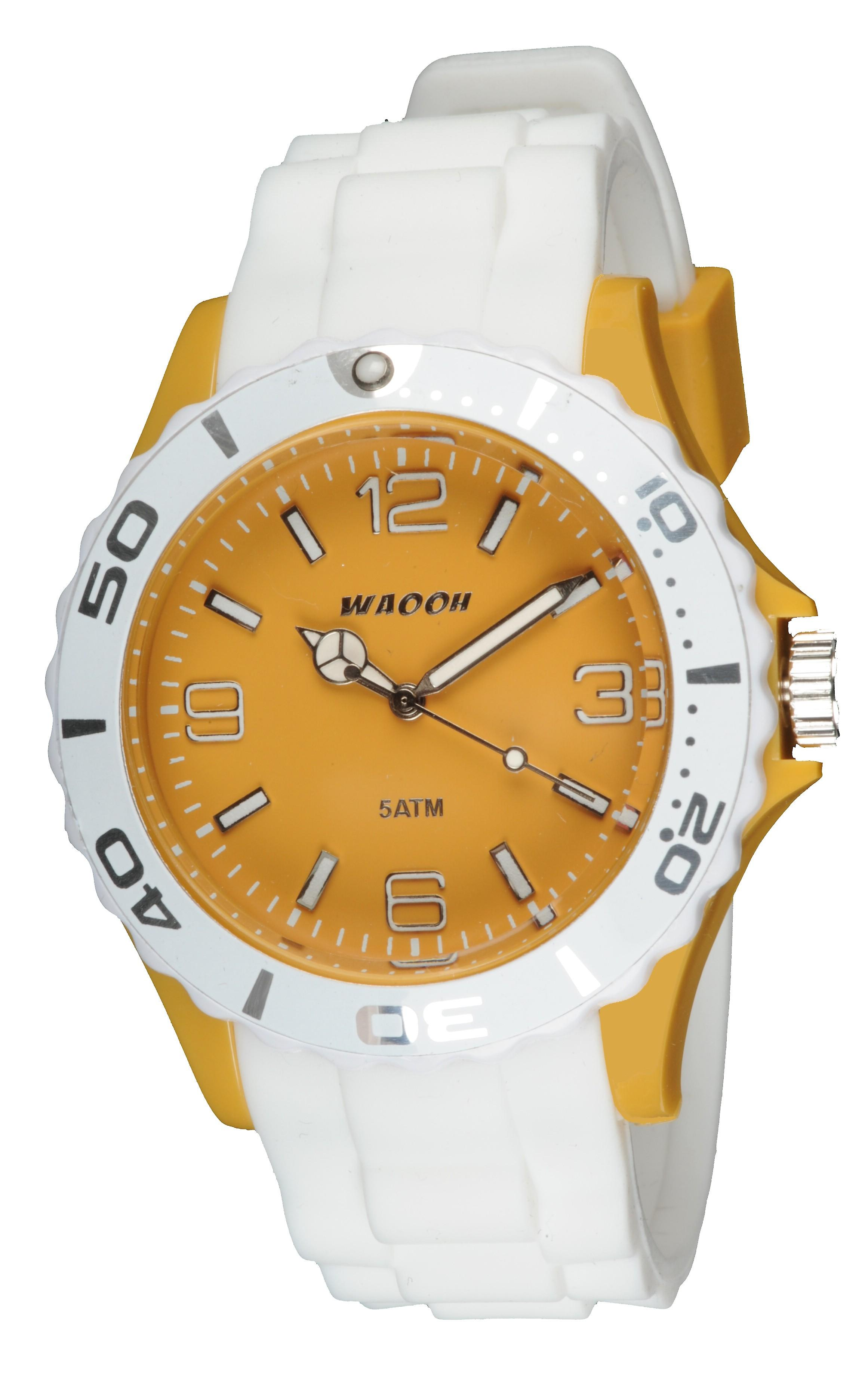 Waooh - Watch MC42 Bicolore & mustard yellow