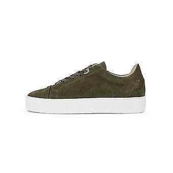 Nubikk Nubikk Green Nubuck Jagger Aspen Sneaker
