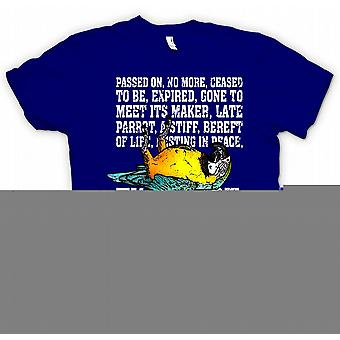 Ex Parrot - Passed On, No More, Ceased To Be... T Shirt