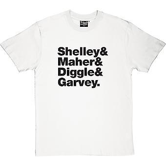 Buzzcocks Line-Up Herren T-Shirt