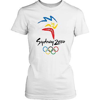 Sydney 2000 Summer Olympics - Australia Ladies T Shirt