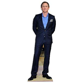 Daniel Craig grandeur nature en carton Découpe / Standee / Standup