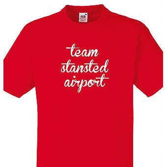 Team Stansted airport Red T shirt