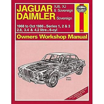 Jaguar XJ6, XJ & Sovereign Service and Repair Manual (Haynes Service and Repair Manuals)