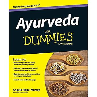Ayurveda For Dummies(R) (For Dummies (Lifestyles Paperback))