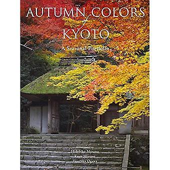 Couleurs d'automne de Kyoto: un portefeuille saisonnier