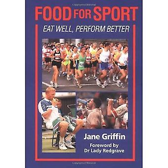 Essen für den Sport: gut essen, eine bessere Leistung