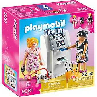 Playmobil 9081 City Life ATM with Functional Mechanism