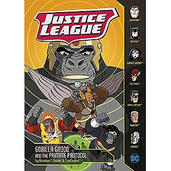 Justice League: Gorilla Grodd and the Primate Protocol