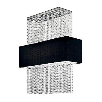 Ideal Lux - Phoenix svart Semi infälld IDL101163