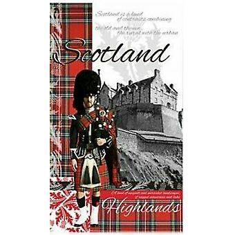 Toalla de té de Escocia heráldico de desgaste de Union Jack