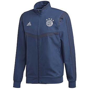20-2020 Bayern München Adidas Präsentationsjacke (Night Marine)
