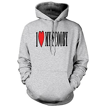 Kids Hoodie - I Love My Scooby Subaru - Car