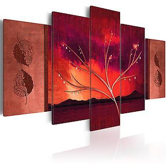 Canvas print-Carmine herfst