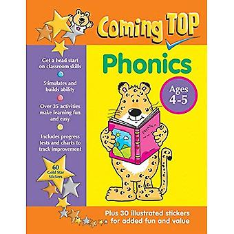 Coming Top: Phonics - Ages 4-5