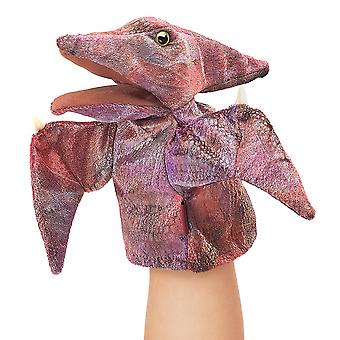 Hand Puppet - Folkmanis - Little Pteranodon Stage Puppet New Toys Soft Doll 3050