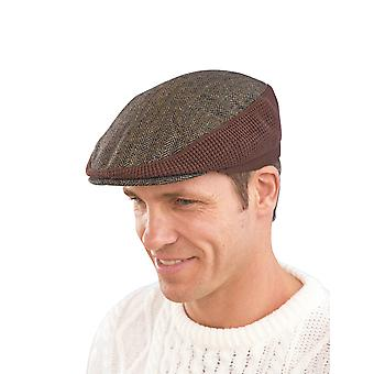 Mens Tweed Stretch Cap