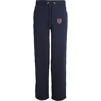 16 Air Assault Brigade - Licensed British Army Embroidered Open Hem Sweatpants / Jogging Bottoms