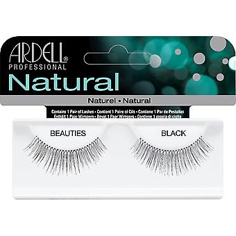 Ardell Natural Beauties Black Easy To Apply Full False Eye Lashes