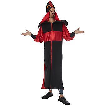 Jafar Disney Aladdin Evil Sorcerer Story Book Week Dress Up Mens Costume
