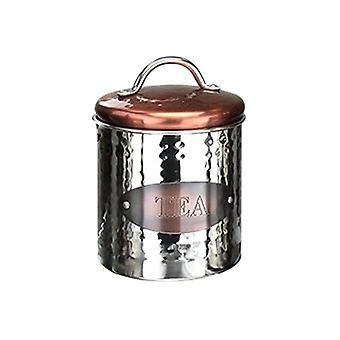 Boîte de thé en cuivre Apollo