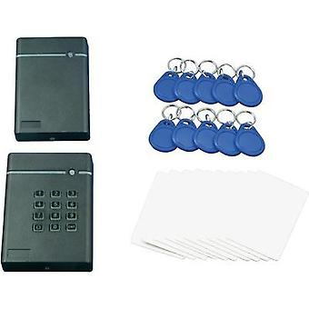 Access control kit QuickCool QW-LF-SET1 Assembled No. of transponders (max.): 1600 12 Vdc