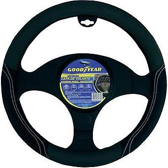 Steering wheel cover Black 37 - 39 cm Goodyear