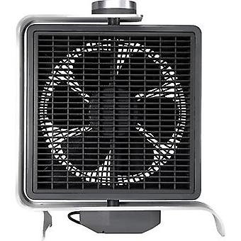 Desk fan Sygonix 50 W Black, Silver