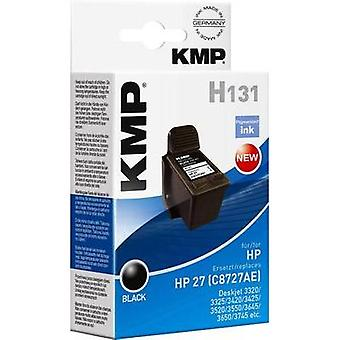 KMP Ink replaced HP 27 Compatible Black