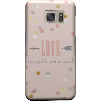 Love is all around to cover Galaxy S7