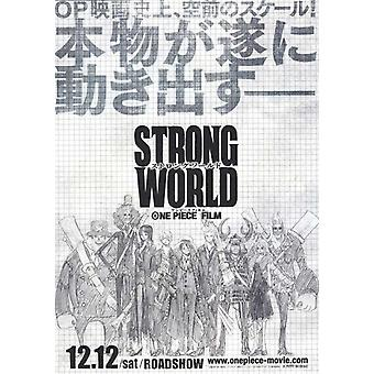 One Piece Film Strong World Movie Poster (11 x 17)