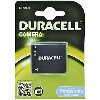 Camera battery Duracell replaces original battery DMW-BCK7 3.6 V